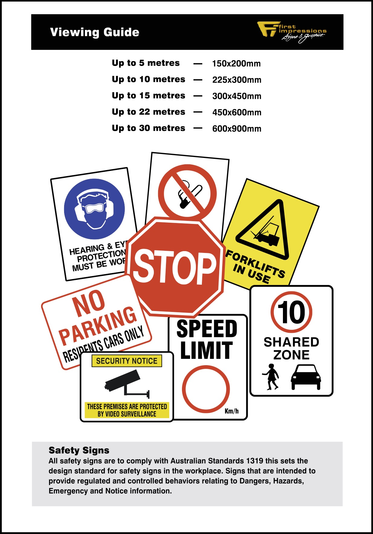 Safety Signage 1